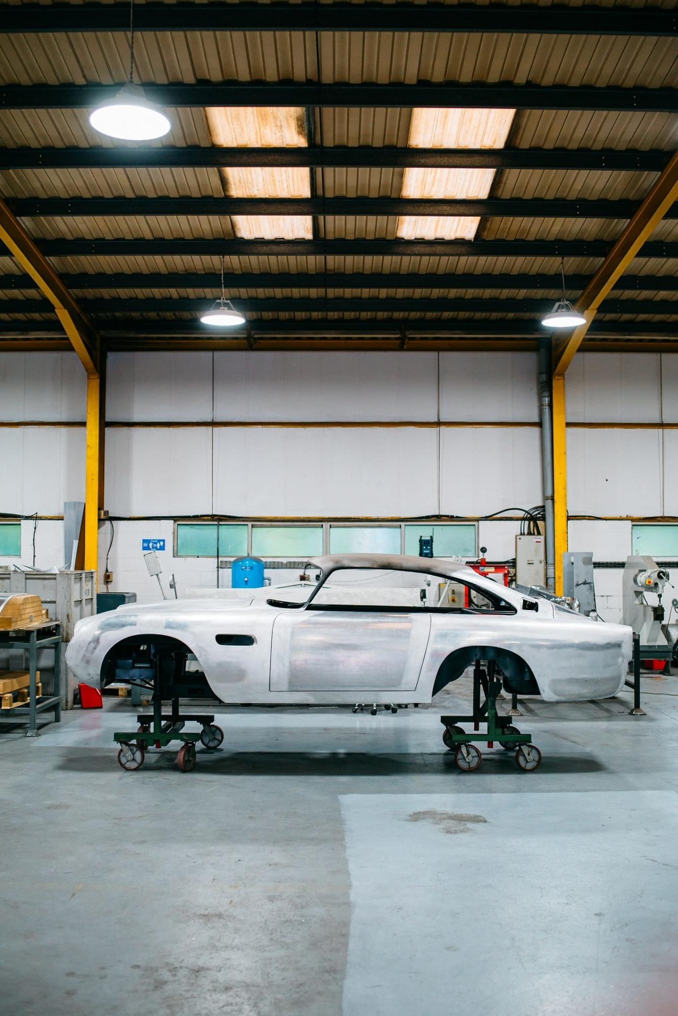 Aston Martin DB5 GYV435C - Bodywork October 2020