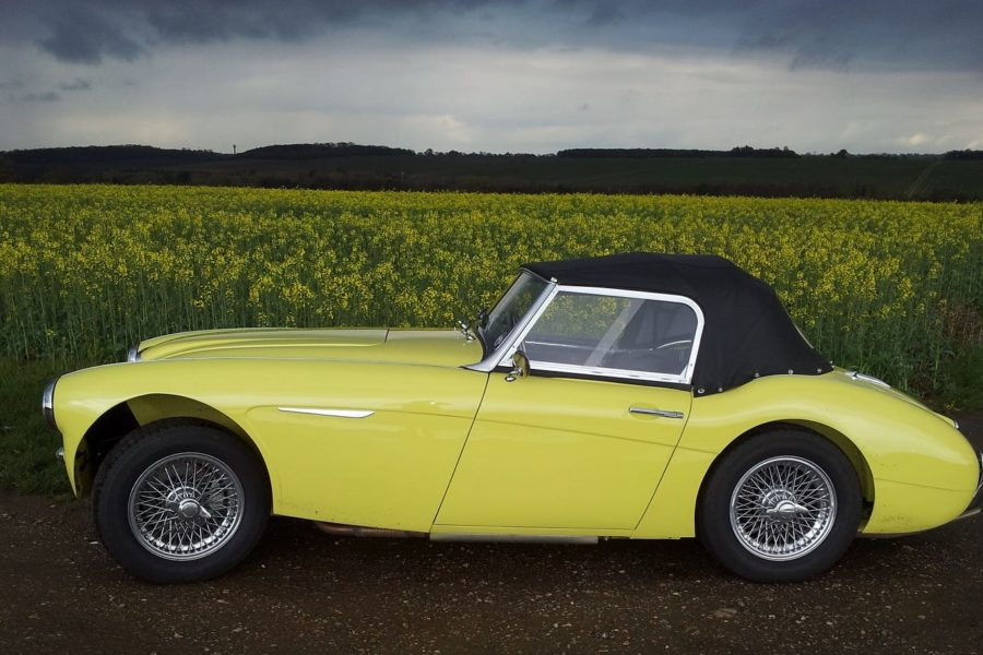 Austin Healey 3000 Mk1 Restoration