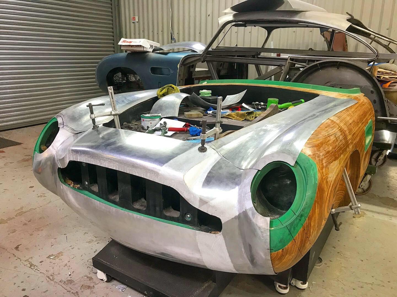 Aston Martin DB5 GYV435C - Shell July 2020