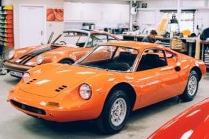 Ferrari Dino - Restoration at Bell Sport & Classic