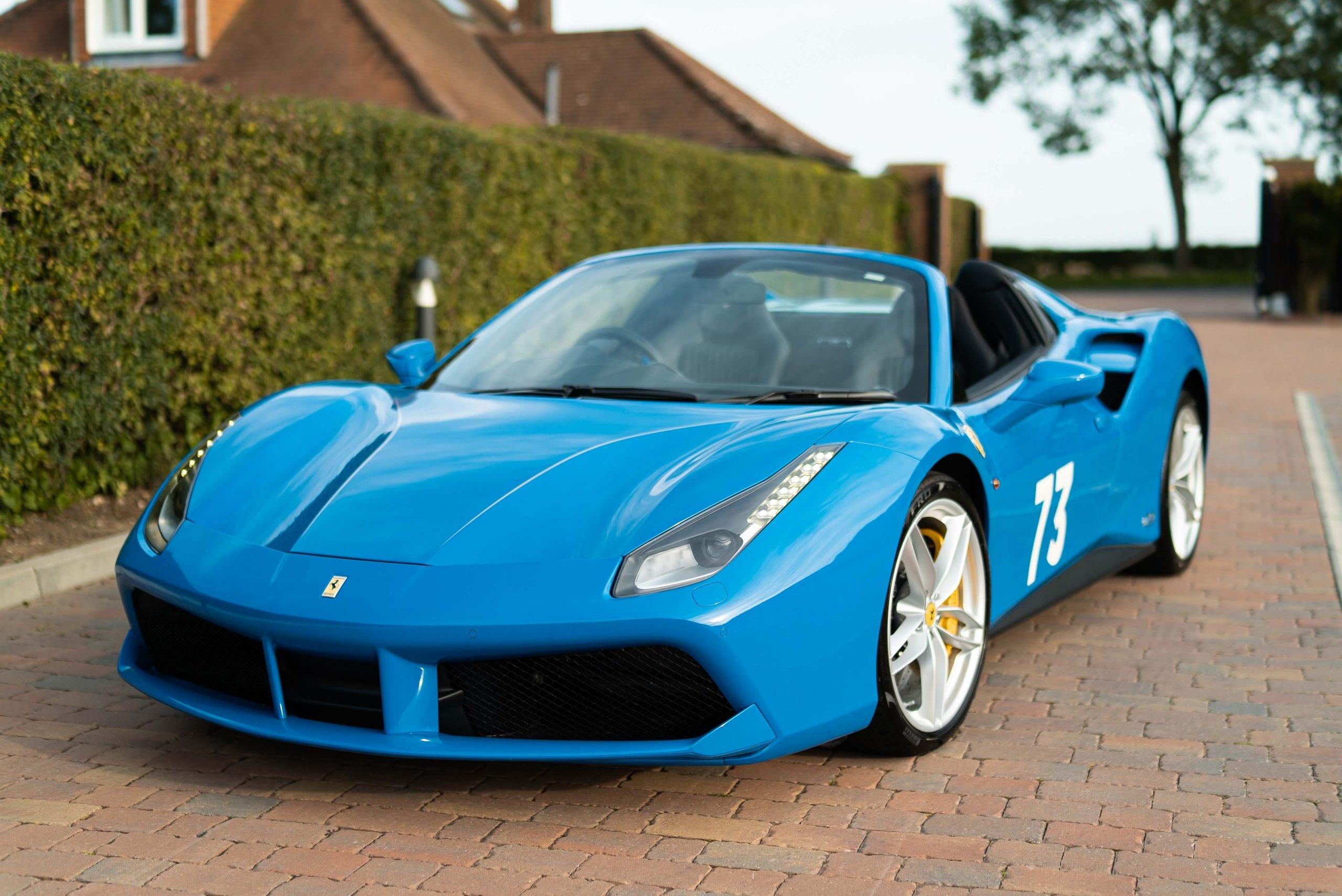 2018 Ferrari 488 Spider 70th Anniversary For Sale At Bell Sport Classic
