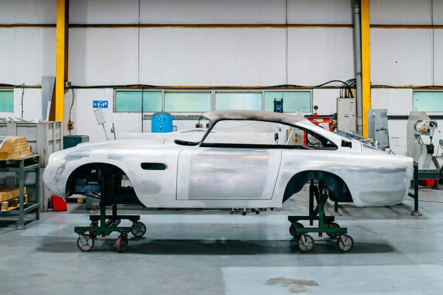 Aston Martin DB5 Restoration