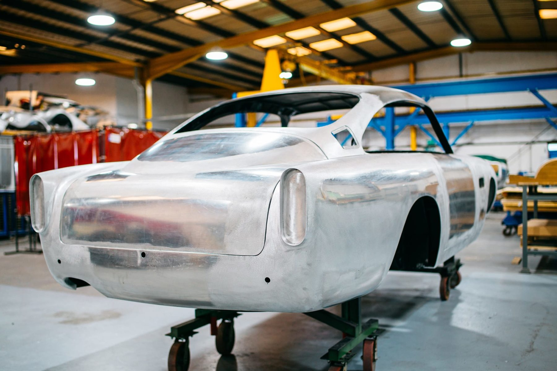Aston Martin DB5 Restoration Bell Sport and Classic