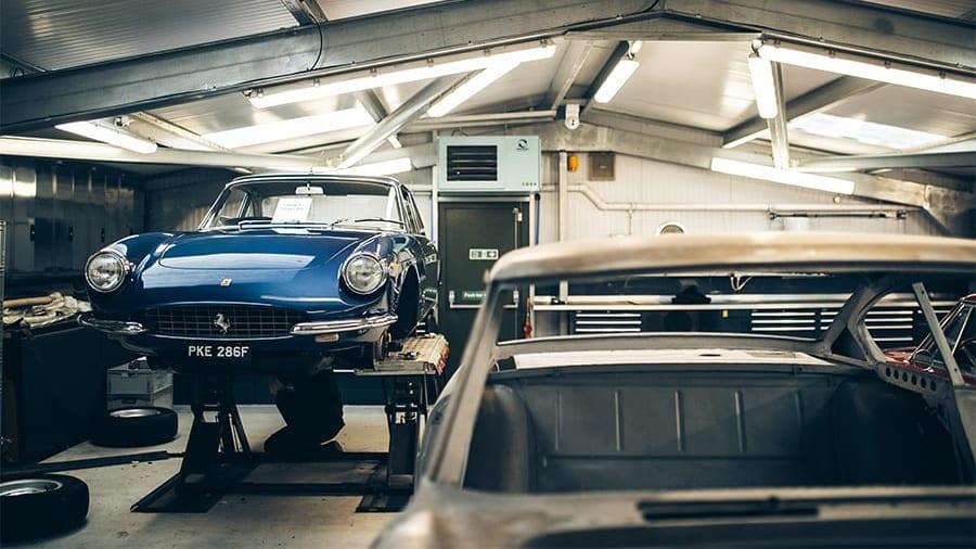 Ferrari Restoration